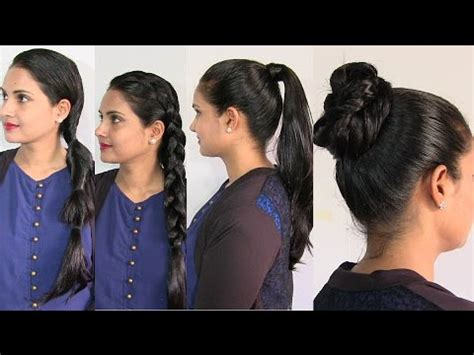 oily hair hairstyles youtube easy and simple hairstyles in oily hair oiled hair