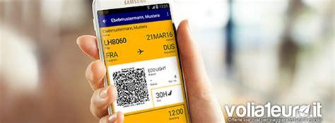 carta d imbarco mobile la carta d imbarco mobile risparmiare tempo con il check