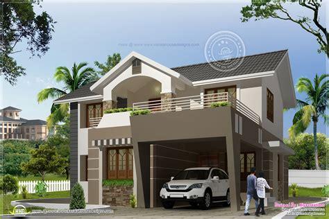 home exterior design photos india 2050 sq feet modern exterior home kerala home design and