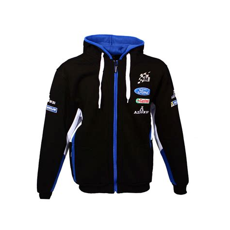 Ford Clothing by Ford Wrc Rally Team M Sport Mens Hoodie 2016 Clothing