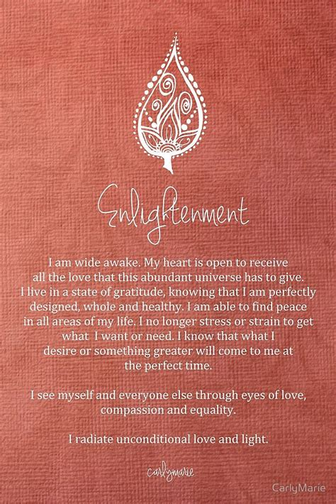 affirmation enlightenment atcarlymarie affirmations