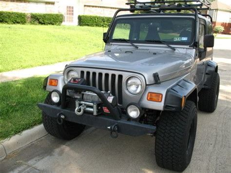 2001 Jeep Wrangler Mpg Find Used 2001 Jeep Wrangler Sport 4x4 Low Mileage
