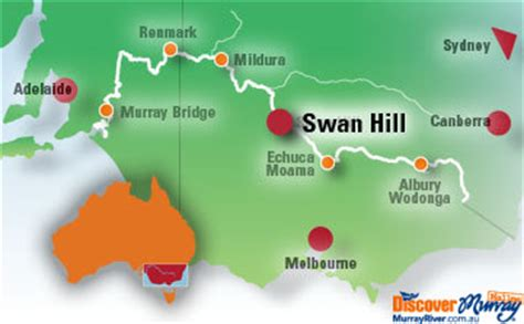 swan hill victoria accommodation attractions  information