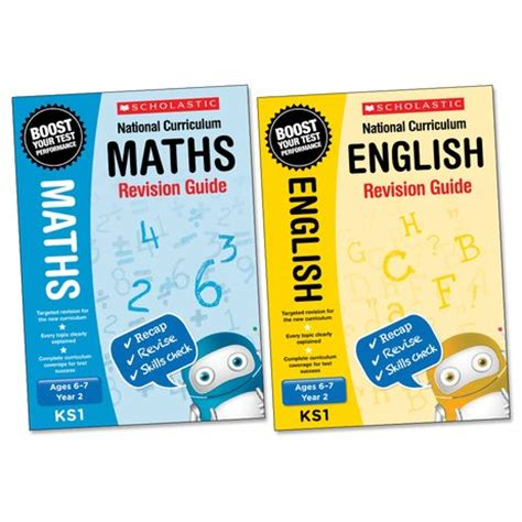 libro maths revision guide national curriculum english and maths revision guides year 2 pair scholastic kids club