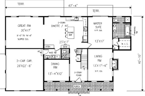 honeycomb colonial country home plan 089d 0004 house