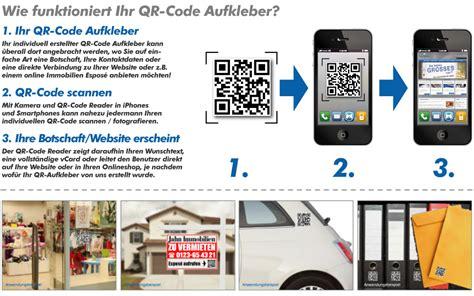 Qr Code Aufkleber F Rs Auto by Qr Code Aufkleber Ihre Visitenkarte Als Qr Code 10 St 252 Ck