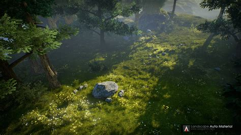 2d Design For Home by Landscape Auto Material By Vea Games In Environments Ue4