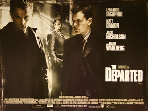 martin scorsese the departed the departed vintage movie posters