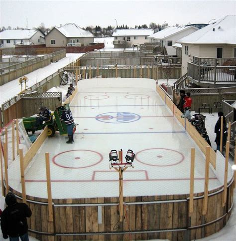 how to build backyard rink best backyard rink ever manteresting