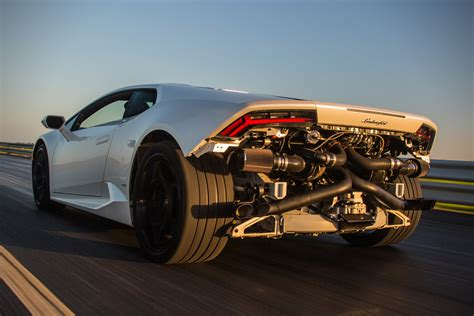 lamborghini engine turbo hennessey lamborghini huracan hpe1000 turbo