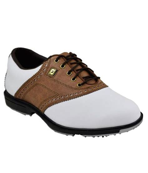 footjoy superlite white and brown golf shoes price in