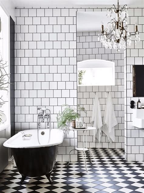 Black And White Bathroom Furniture by Get Inspired With 25 Black And White Bathroom Design Ideas