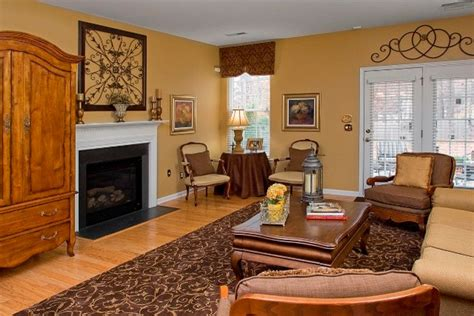 Brown And Gold Living Room by Brown And Gold Causal Living Room Traditional
