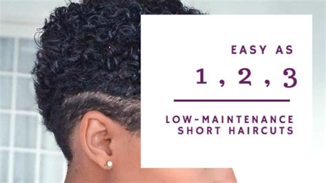 easy to maintain curly hairstyles 3 low maintenance short haircuts for curly hair design