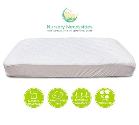 Crib Mattress Pad Safety Top 10 Best Safety Crib Mattress Pads February 2018 Acoollist