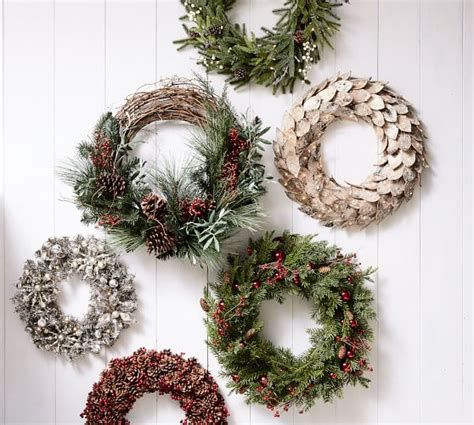 Garland Home Decor Berry Pine Home Decor Garland Pottery Barn