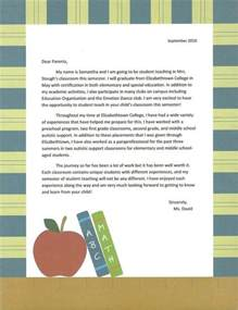 Letter To Parents Template From Teachers by Best 25 Introduction Letter Ideas On