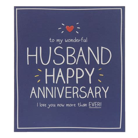 happy jackson husband happy anniversary card temptation gifts