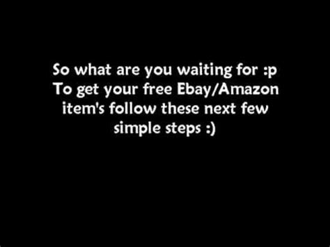 how to get free stuff on amazon without a credit card how to get free stuff from ebay and amazon and more