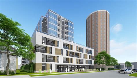 Apartment Building East Side Plenty Of Horne 10 Story Apartment Building Planned For