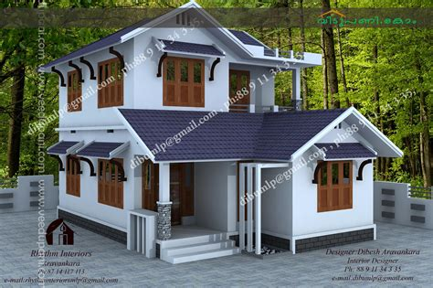 Kerala Style House Plans With Cost by Low Budget Houses In Kerala Photos And Plan With Wonderful