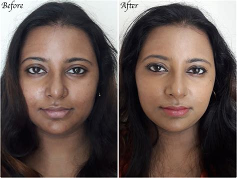 stars before and after makeup msn revlon photoready airbrush effect makeup foundation review