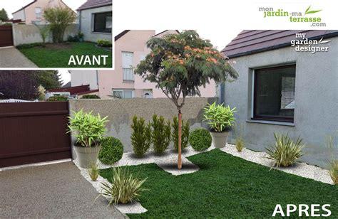 Amenagement Terrasse Jardin by Agencement Petit Jardin Amenagement Terrasse Exterieure
