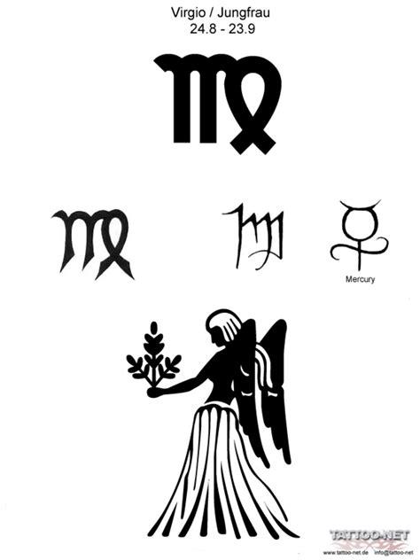 virgo zodiac tattoo designs virgo zodiac sign design tattooshunt