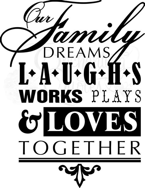 Design Your Own Home Gym by Family Quotes Vinyl Wall Quotes Our Family Dreams