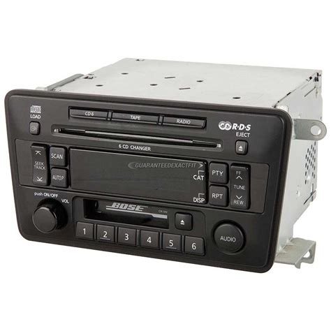 nissan pathfinder radio 2004 nissan pathfinder radio or cd player from car parts