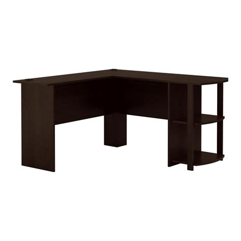 espresso l shaped desk ameriwood home quincy espresso l shaped desk hd88558 the