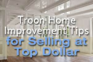 troon home improvement tips for selling at top dollar
