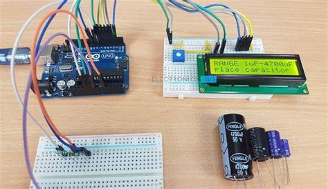 capacitance meter circuit using arduino arduino capacitance meter