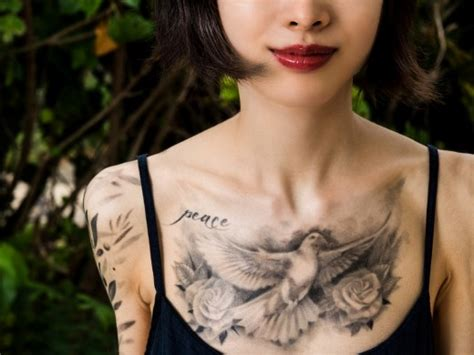 20 stunning dove tattoo designs sheplanet