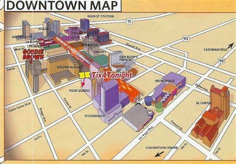 map of downtown las vegas downtown fremont hotels map downtown las vegas