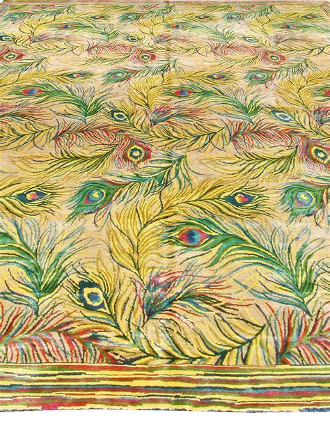 peacock rug peacock designer rug contemporary rug n10954 by doris leslie blau