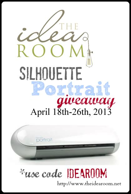 Giveaway Disclaimer - silhouette giveaway promotion the idea room