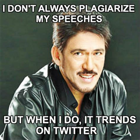 Plagiarism Meme - tito sotto on anti rh bill and plagiarism funny pinoy