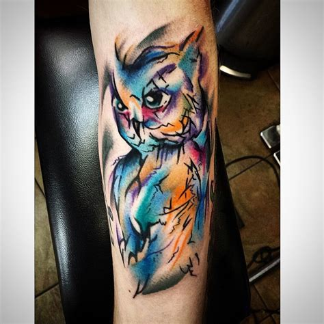 watercolor tattoo owl watercolor owl www imgkid the image kid has it
