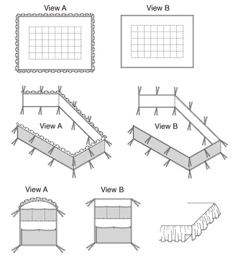 Crib Bumper Pad Measurements by K3075 Crib Comforter Bed Skirt Fitted Sheet Bumper