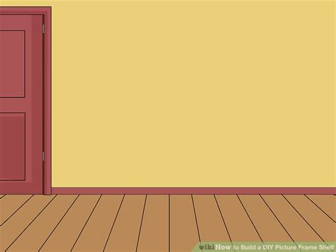 frame and add a shelf to a builder grade mirror hometalk 3 ways to build a diy picture frame shelf wikihow