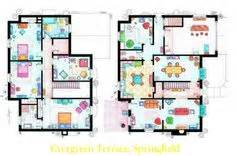 1000 Images About Deco Inspiration On Pinterest Simpsons House Floor Plan