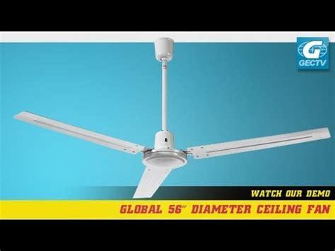 Global Ceilings by Global Industrial Ceiling Fan