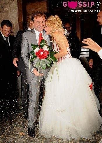stefano fiore sposato oggi sposi patrizia pellegrino foto matrimonio