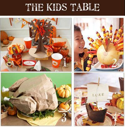 kid crafts for thanksgiving table decorations top 10 thanksgiving home decorating ideas