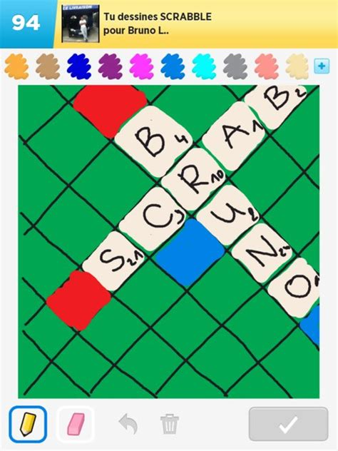 Scrabble Drawings How To Draw Scrabble In Draw Something