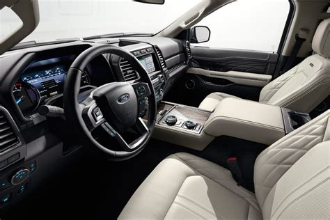 ford expedition 2018 interior 2018 ford expedition revealed page 4