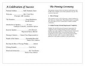 awards ceremony program template best photos of awards ceremony program template award