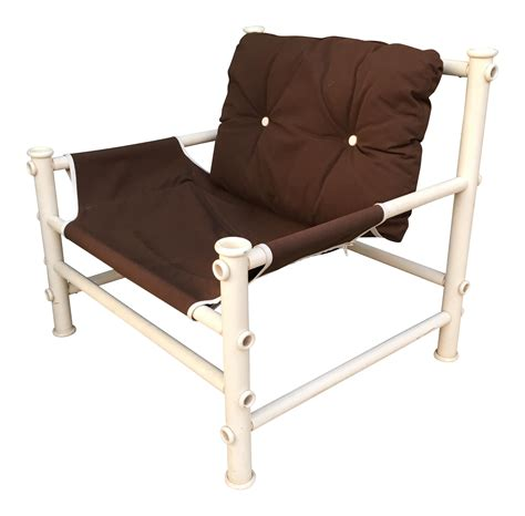Pvc Pipe Lounge Chair by Vintage Pvc Pipe Lounge Chair Chairish
