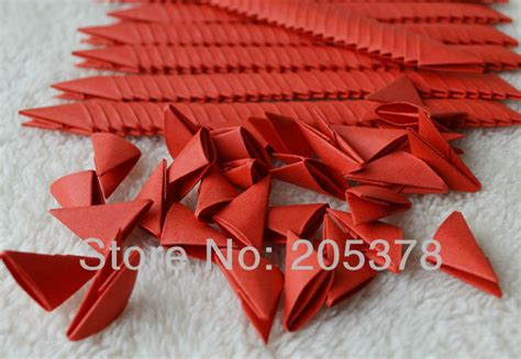 origami triangle pieces 3d origami triangles pieces 200 per order color jpg